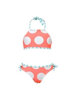 Coral Dots Bikini - 8