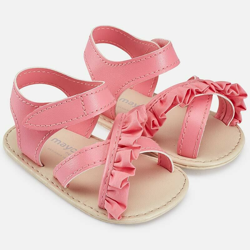 Bubblegum Ruffle Sandals 9131C - 15