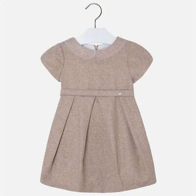 Gold Strass Collar Dress 4925V-3