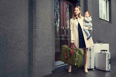 Deluxe+Transport Bag - Moss Green