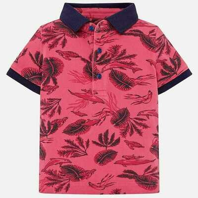 Leaves Polo Shirt 1119 12m