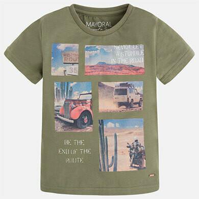 Desert Print T-Shirt 3023-7
