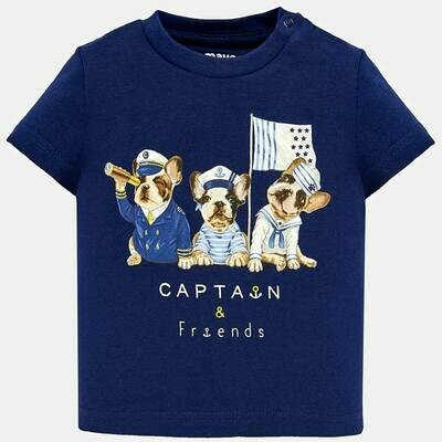 Sailor Dog Shirt 1017 9m