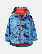 Blue Whales Raincoat 6y