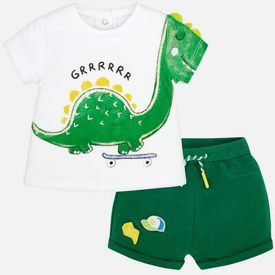 Dino Shorts Set 1218 4/6m