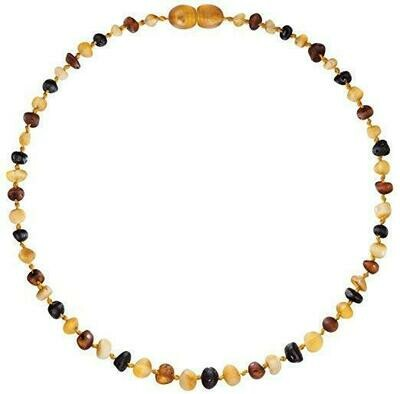 Raw Cherry Amber Necklace