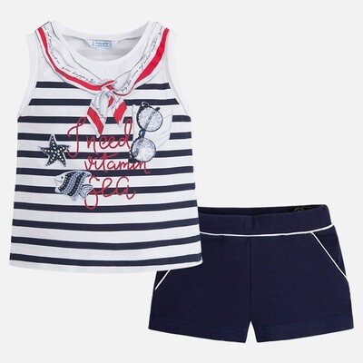 Nautical Shorts Set 3232 4