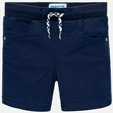 Navy Drawstring Shorts 1245M - 9m