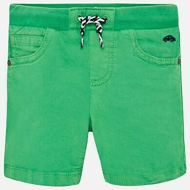 Green Drawstring Shorts 1245A - 6m
