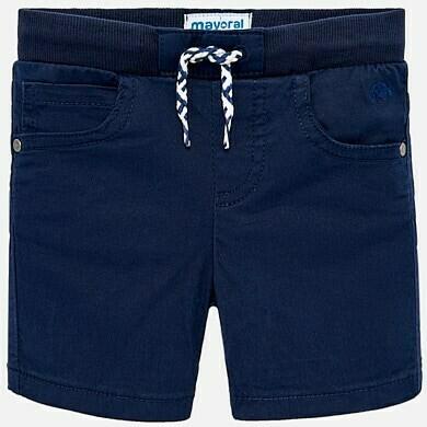 Navy Drawstring Shorts 1245M - 12m