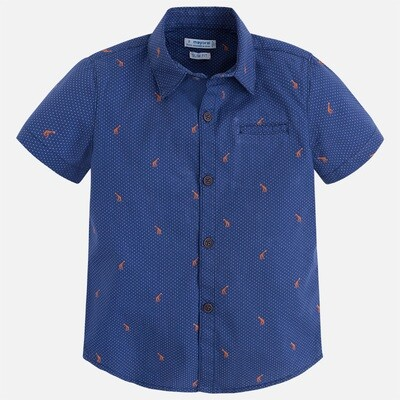 Patterned Shirt 3146C-6