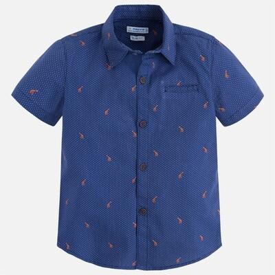 Patterned Shirt 3146C-8