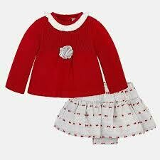 Sweater & Skirt Set 2870 4/6m