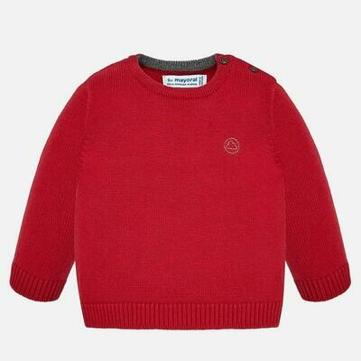 Red Knit Sweater 351 9m