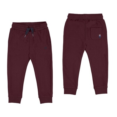 Burgundy Sweatpants 725 - 6