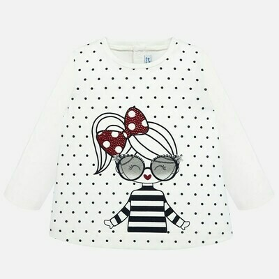 Dotted LS Shirt 2016 - 6m