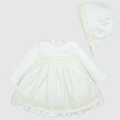 Dress Set 2813 - 2/4m
