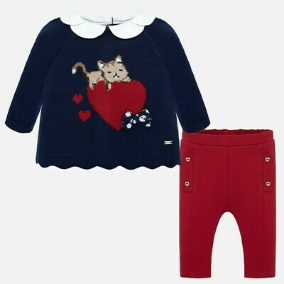 Sweater Set 2513 4/6m