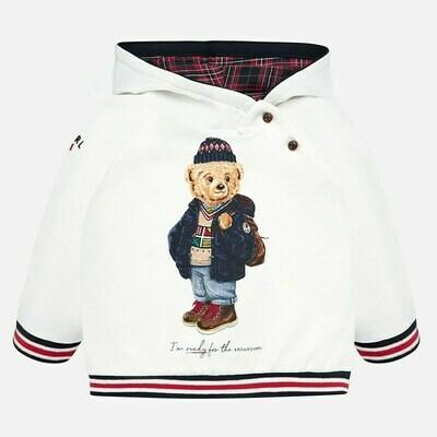 Bear Hooded Sweatshirt 2439 18m