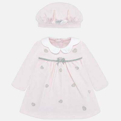 Dress & Hat Set 2803 12m