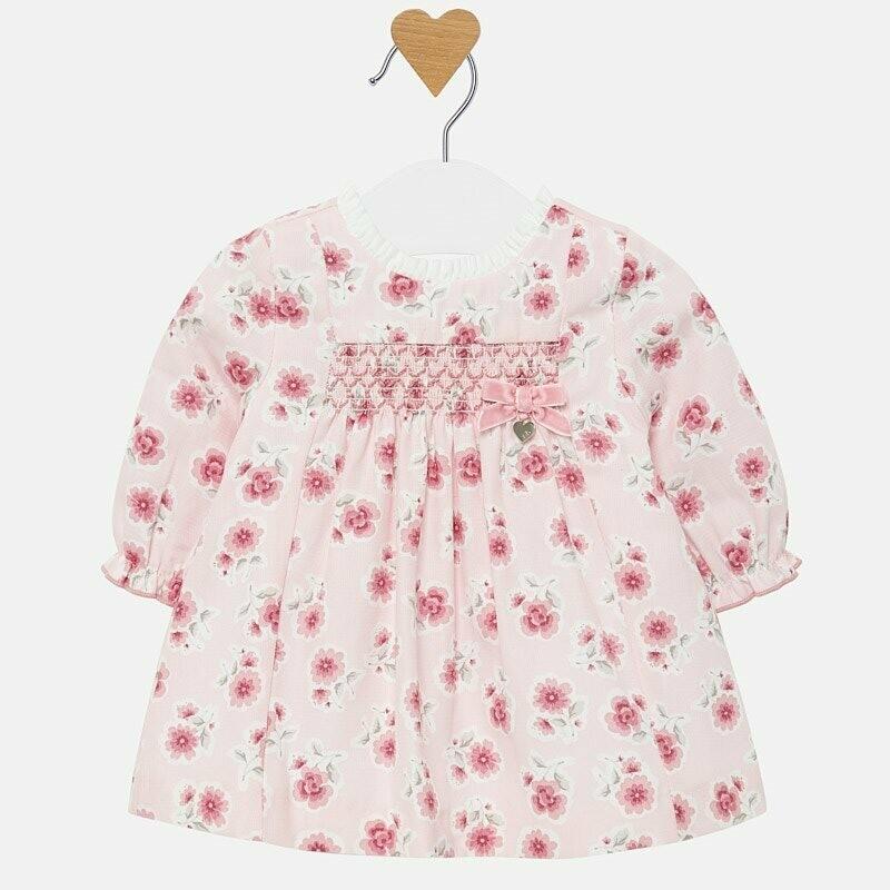 Floral Dress 2805 - 2/4m