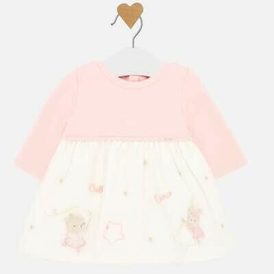 Ballet Bear Dress 2831 6/9m