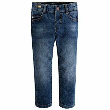 Denim Ribbed Jeans 4515 - 6