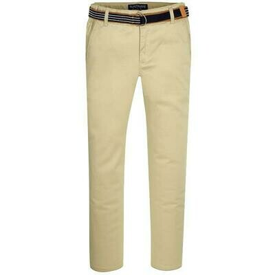 Tan Belted Twill Pants 3503 - 3