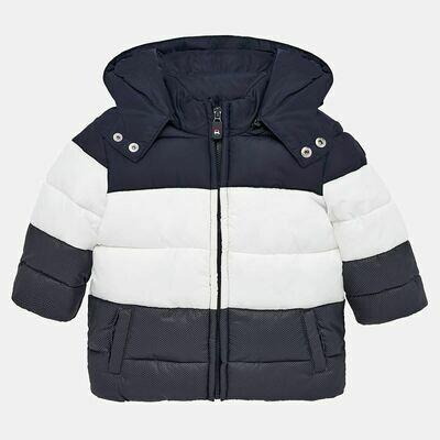 Navy Padded Coat 2451 - 12m