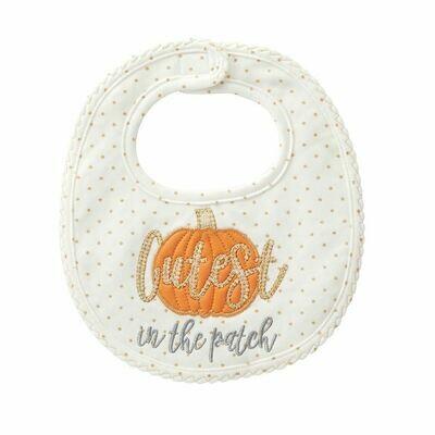 Cutest Pumpkin in the Patch Bib