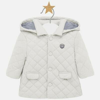 Quilted Coat 2403 - 4/6m