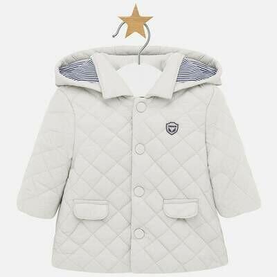 Quilted Coat 2403 - 6/9m