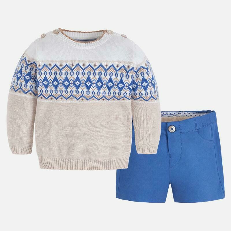 Sweater Set 2205C 2/4m