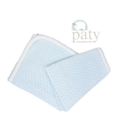 Blue Pinstripe Blanket