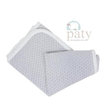 Grey Pinstripe Blanket