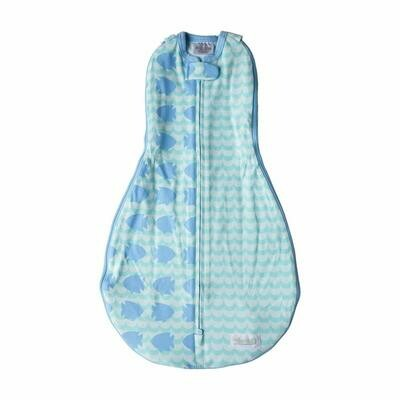 Grow With Me Swaddle - Fishy