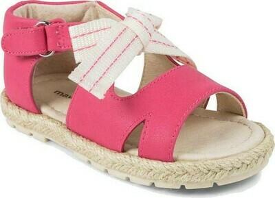 Pink Bow Sandal 41872 - 7.5