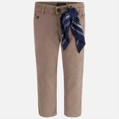 Tan Pants & Scarf 4513 - 8
