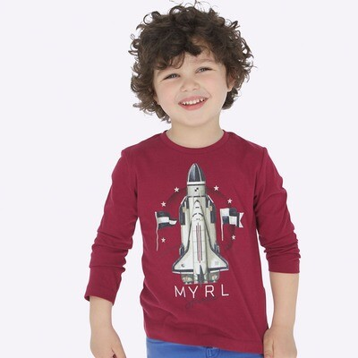 Rocketship Shirt 4029 - 8