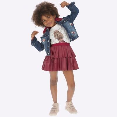 Leatherette Skirt 4909 - 8