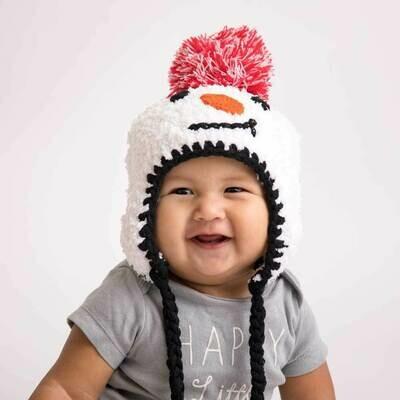 Snowman Beanie - L