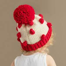 Red Popcorn Hat - M