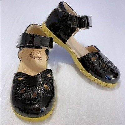 Petal Mary Jane, Black - 2Y