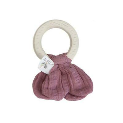Safari Teething Ring - Pink