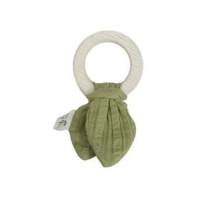 Safari Teething Ring - Green