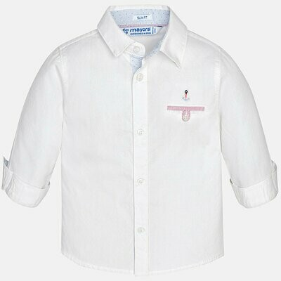 White Dress Shirt 1170B 18m