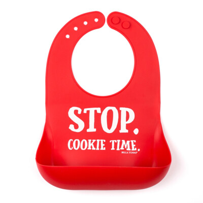 STOP. Cookie Time Bib