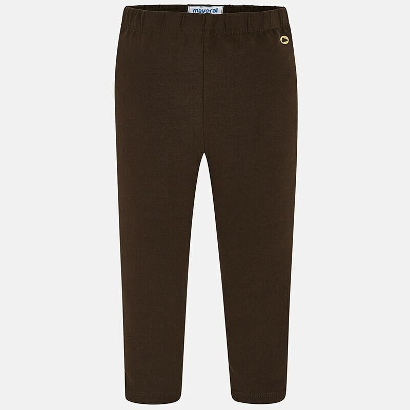 Basic Brown Leggings 717Mo-5