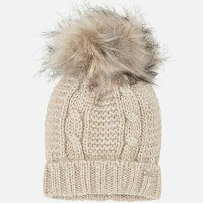Beige Hat 10607- 52