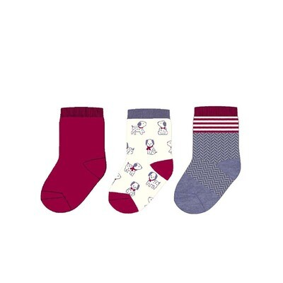 Red Sock Set 9160 12m